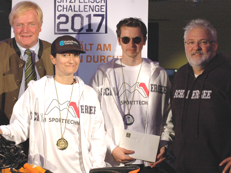 Rekord: 101 Stunden-Sitzfleisch-Challenge